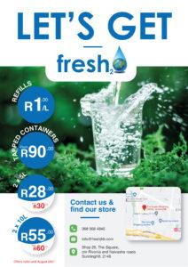Fresh Water specials