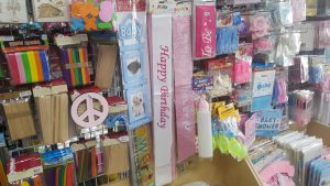 Party's Store wedding accessories and birthday accessories