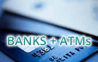 Banks + ATMs | Click for More