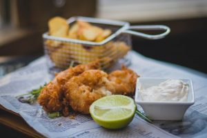 Village Fish + Chips at the square sunninghill shopping centre